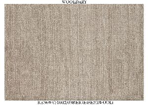 Hand Woven Semi Worsted New Zealand Wool Dhurrie 02