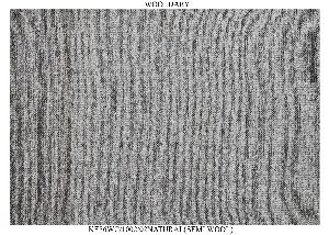 Hand Woven Semi Worsted New Zealand Wool Dhurrie 05