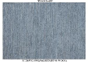 Hand Woven Semi Worsted New Zealand Wool Dhurrie 07