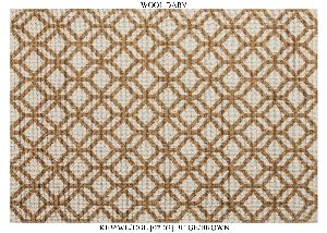 Hand Woven Semi Worsted New Zealand Wool Dhurrie 14