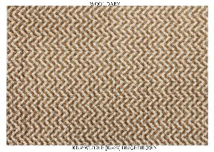Hand Woven Semi Worsted New Zealand Wool Dhurrie 17