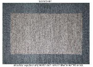 Hand Woven Semi Worsted New Zealand Wool Dhurrie 25