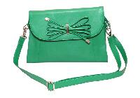 Ladies Hand Bag (71173-Green)