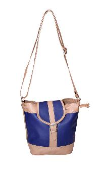 Ladies Hand Bag (71174-Blue)