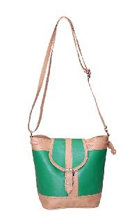 Ladies Hand Bag (71174-Green)