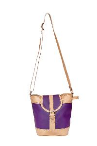 Ladies Hand Bag (71174-Purple)