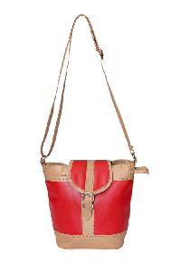 Ladies Hand Bag (71174-Red)