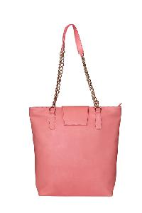 Ladies Hand Bag (71182-Peach)