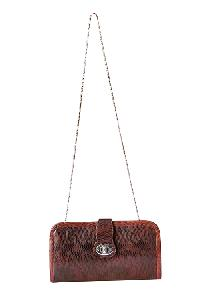 Ladies Sling Bag (71180-Brn-Tan)