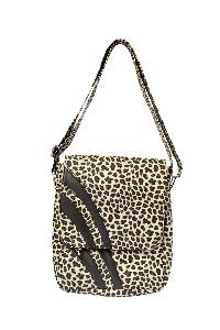 Ladies Sling Bag (AA-2102-Black-Cream)