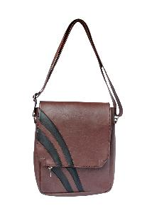 Ladies Sling Bag (AA-2102-Brown)