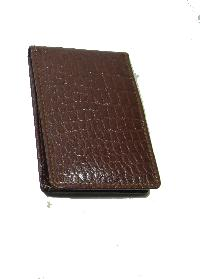 Leather Card Case (CH-748-Brown)