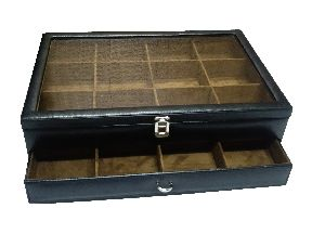 Tie Case (Tie Box-01-Black)