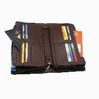 Travel Passport Holder (AA-2184-Dark Brown)