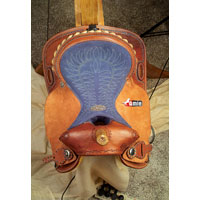 Horse Barrel Racing Saddle
