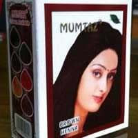 Mumtaz Brown Henna Hair Color