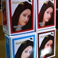 Mumtaz Burgundy Henna Hair Color