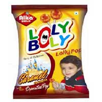 Lolly Bolly Caramel Lollipop