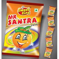Orange Flavoured Hard Candy