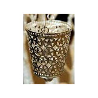 Antique Silver Tea Light