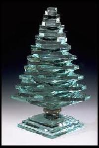 Glass Christmas Trees