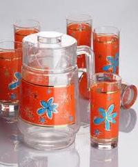 Glass Jug Set