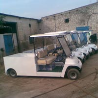 Battery Operated Material Loading Vehicle
