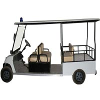 Battery Operated Multi - Utility Vehicle with Foldable Back Seats