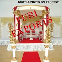 Wedding Fiber Glass Ganesha Mandap