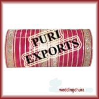 Wedding Pink Designer Churda