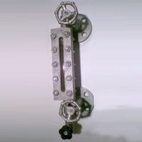 Reflex Flat Glass Level Gauge