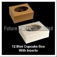 12 Mini Cupcake Boxes