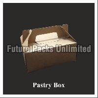 Brown Cake Box With Handle 01