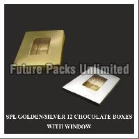 Golden & Silver Chocolate Box 02
