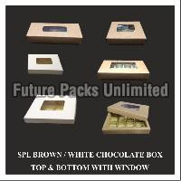 Special Brown & White Choclate Box