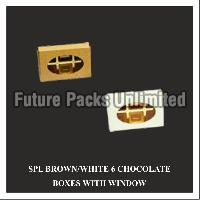 Special White & Brown Choclate Box With Window 02