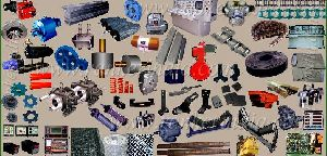 Asphalt Batch Mix Plant Spare Parts