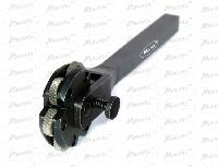 6 Wheel Revolving Knurling Tool