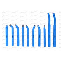Carbide Brazed Lathe Cutting Tools Set-10 Pieces