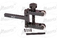 Spring Loaded Clamp Type Knurling Tool 2 Inches Capacity