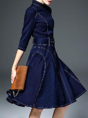 Denim Dress 02