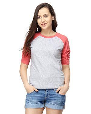 Girls Round Neck T-Shirt 05