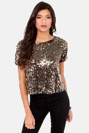 Sequin Top 01