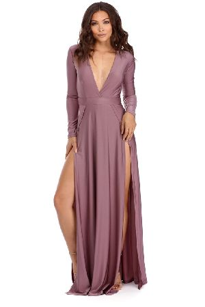 Slit Dress 01