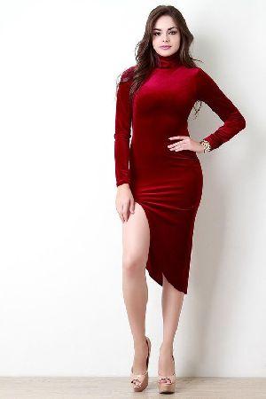 Slit Dress 03