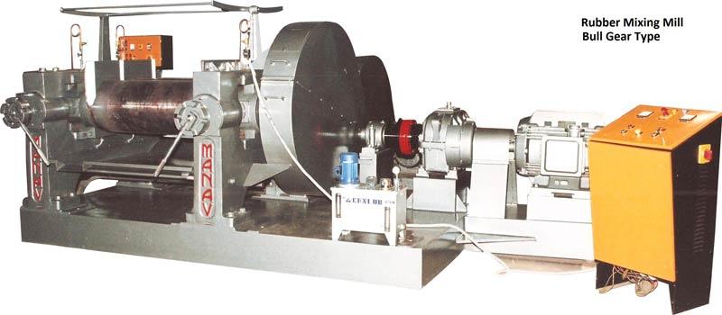 Heavy duty Rubber Mixing Mill 01