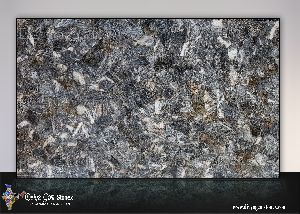 Grey Quartz Dark Slab