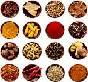 Indian Spices and Rice 01