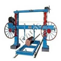 Folding Type Horizontal Steel Body Bandsaw Machine