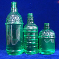 Round Clear PET Bottle